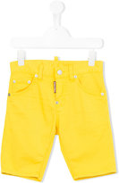 DSQUARED2 denim shorts - kids - Cotton/Spandex/Elastane - 4 yrs