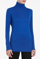 Tiana Silk-Blend Turtleneck