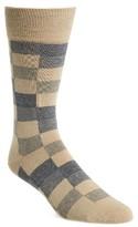 BOSS Men's Rs Design Check Socks