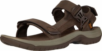 Teva Mens M TANWAY Leather Sport Sandal