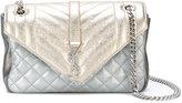Saint Laurent 'Monogramme' quilted shoulder bag - women - Leather - One Size