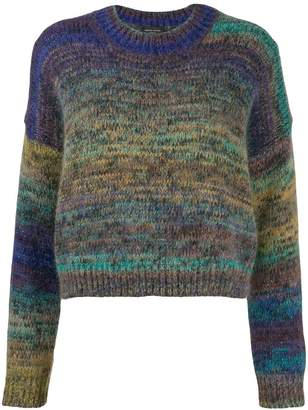 Roberto Collina sparkle-knit sweatshirt