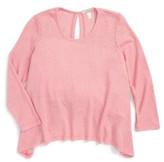Girl's Love On Tap Split Back Sweater