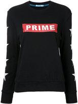 GUILD PRIME logo print sweatshirt - women - Cotton - 34