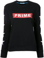 GUILD PRIME logo print sweatshirt - women - Cotton - 36