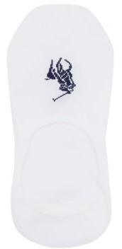Polo Ralph Lauren Pack Of Three Cotton Blend Liner Socks - Mens - White