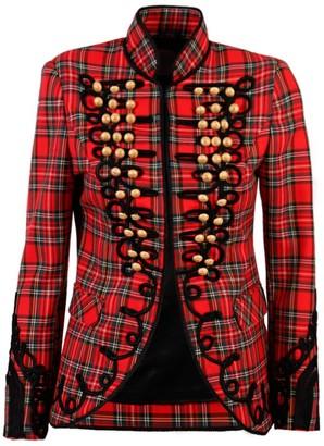 Red Check Jacket Alex