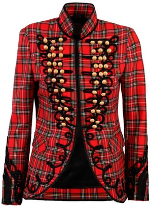 The Extreme Collection Red Check Jacket Alex