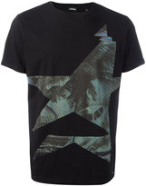 Diesel motif print T-shirt