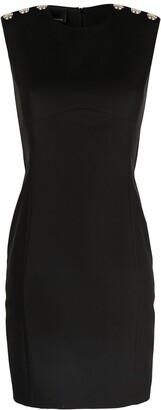 Pinko Button-Detail Shift Dress