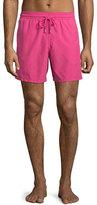 Vilebrequin Moorea Solid Swim Trunks, Pink