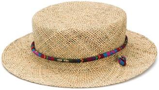 Ruslan Baginskiy Woven Straw Hat