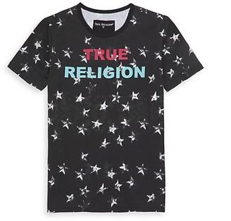 True Religion Little Boy's Shadow Star Logo T-Shirt