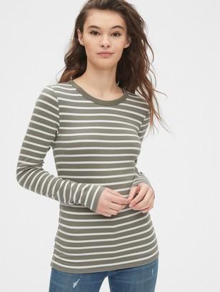 Gap Modern Long Sleeve Stripe T-Shirt