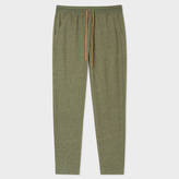 Paul Smith Men's Khaki Jersey Cotton Lounge Pants