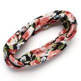 Mudd Flower Print Jersey Head Wrap