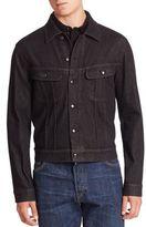 Ralph Lauren Purple Label Button-Front Denim Jacket