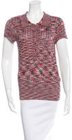 Magaschoni Knit Polo Top