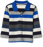 Gap Crazy stripes polo