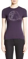 Versace Women's Embellished Logo Tee