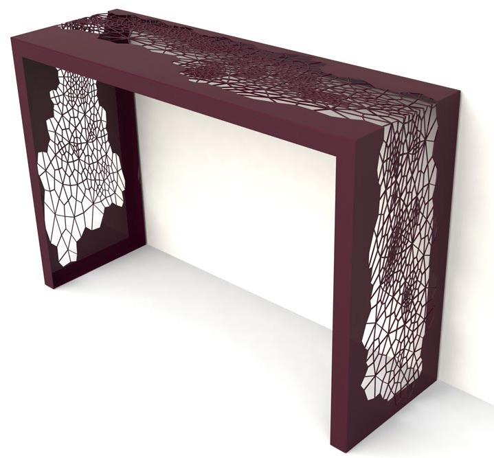 2Modern Arktura - Hive Console Table