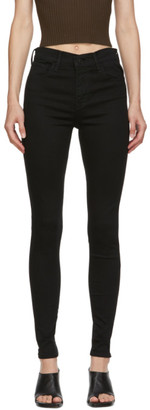 Levi's Levis Black 720 High Rise Super Skinny Jeans