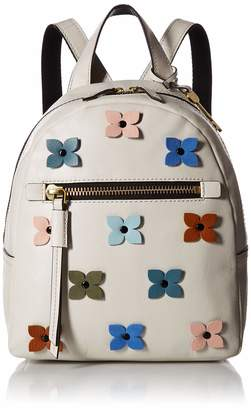 Fossil Printed Synthetic Leather; Zipper Closure; Imported