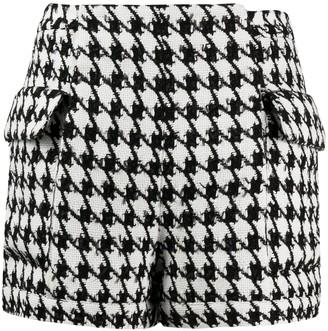 Balmain Houndstooth Shorts
