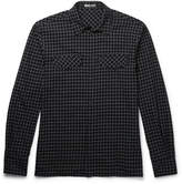 Bottega Veneta - Checked Cotton-flannel Shirt