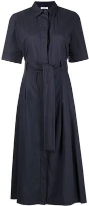 P.A.R.O.S.H. Short-Sleeve Midi Shirtdress