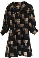 Christian Lacroix Blue Cotton - elasthane Dress for Women Vintage