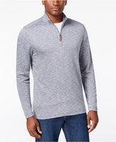 Tasso Elba Men's Quarter Zip-Up Pullover, Only at Macy's