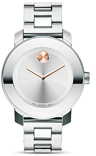 Movado Bold Medium Stainless Steel Watch, 36mm