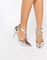 Miss KG Shelby Cross Strap Point Heeled Shoes