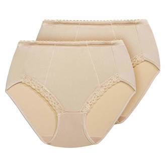Exquisite Form 2-Pack Control Lace Shaping Panties #51070261a