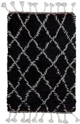 Rombus Small Handmade Berber Wool Rug