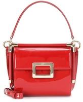 Roger Vivier Miss Viv' Carré Patent Leather Shoulder Bag