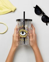 Monki Sunflower Print Cup