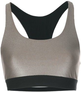 Koral Metallic Sports Bra