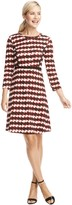 Draper James Homestead Houndstooth Dress