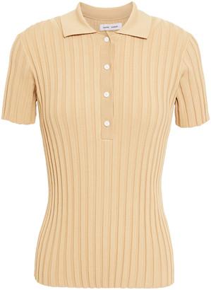 Samsoe & Samsoe Samse Samse Jette Ribbed-knit Polo Shirt