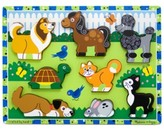 Melissa & Doug Kids Toy, Pets Chunky Puzzle