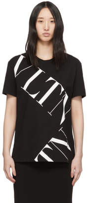 Valentino Black VLTN Grid T-Shirt