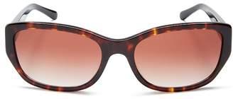 Tory Burch Women's Slim Cat Eye Sunglasses, 57mm