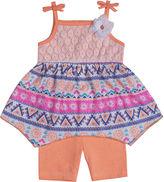 Little Lass Top and Shorts Set - Preschool Girls 4-6x