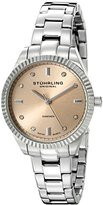 "Stuhrling Original Women's 607L.02 ""Symphony Allure"" Stainless Steel Watch with Diamonds"