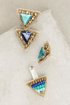 Suzanna Dai Delta Jacket Earrings