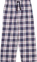 The Little White Company Check print cotton pyjama bottoms 2-6 years