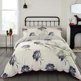 Joules Monochrome Regency Floral Duvet Cover - King