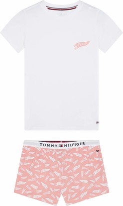 Tommy Hilfiger Girl's SS Short Set Print Pyjama